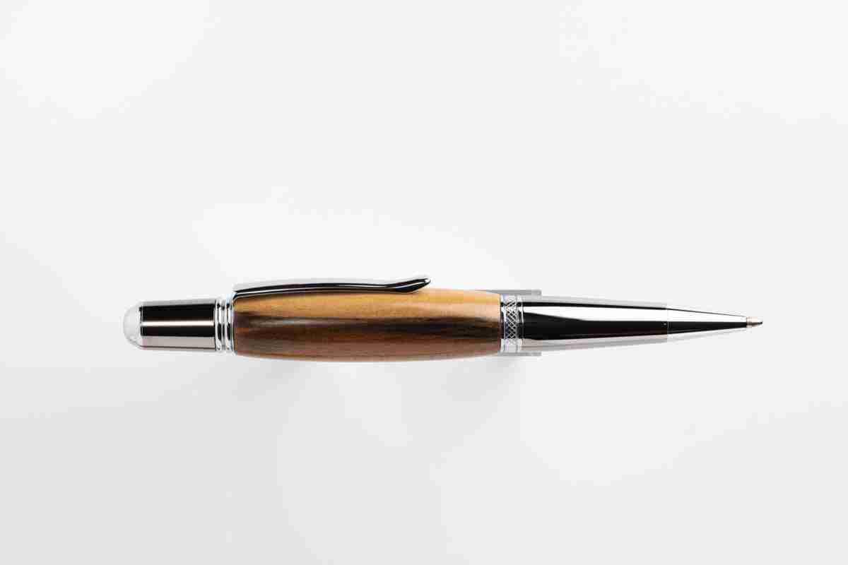 Spalted Sassafras pen